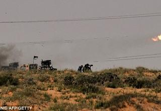 Около Бин Джавад. http://www.dailymail.co.uk/news/article-1370412/Libya-war-Rebels-attack-Gaddafi-troops-close-Sirte.html