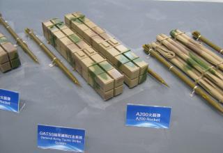 Макеты РС и ТПК для РСЗО (Китай)