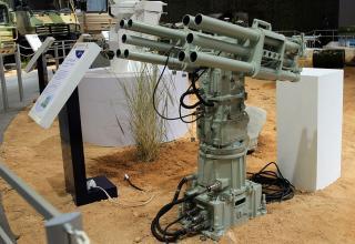 Макет пусковой установки CS/AR1 55 mm для пуска ракет против подводных диверсантов