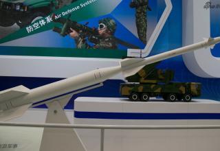 Макет ЗУР ЗРК (Китай). http://www.china-defense-mashup.com/fk-3000-defense-system-in-2014-zhuhai-air-show.html