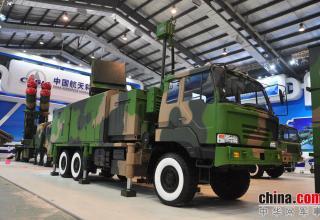 Демонстрационный вариант ПУ ЗРК FM-3000. http://www.china-defense-mashup.com/fm-3000-sam-missile-in-2014-zhuhai-air-show.html