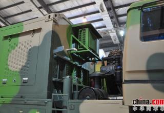 Элемент конструкции ПУ ЗРК FM-3000. http://www.china-defense-mashup.com/fm-3000-sam-missile-in-2014-zhuhai-air-show.html
