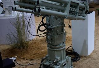 Макет пусковой установки CS/AR1 55 mm для пуска ракет против подводных диверсантов. china-defense-mashup.com
