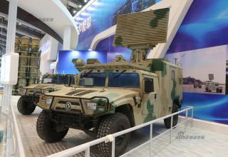 Образец ЗРК Leibao-6C (Китай). http://www.china-defense-mashup.com/leibao-6c-mobile-sam-system-in-2014-zhuhai-air-show.html