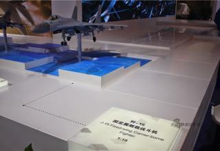 Макет варианта морского истребителя J-15 (Китай).http://chinadefense.blogspot.ru/2014/11/chinese-plan-navy-j-15-fighter-jet.html