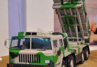 Макет ПУ WS-3A. http://gbtimes.com/china/zhuhai-airshow-highlights-chinas-most-advanced-munitions