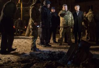 Рабочая поездка Порошенко в Краматорск. 10.02.2014 г. http://www.president.gov.ua/ru/gallery/2408.html#40698