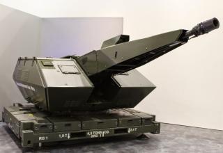 Решение для ПВО от Rheinmetall. Макет лазерной пушки. http://worlddefencenews.blogspot.ru/2015_02_01_archive.html