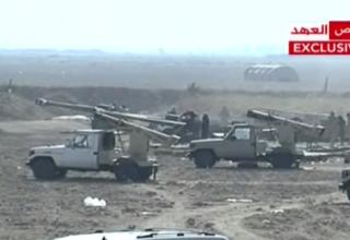 БМ HM27 (Иран) в составе вооружения иракской армии в Jurf Al Sakhr. http://asian-defence-news.blogspot.ru  26.10.2014 г.