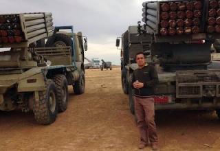 Боевые машины HM-20 (Иран) из состава вооружения сил Пешмерга. http://gooyadaily.com