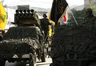 Военный парад в городе Набатия (Ливан) 07.11.2014г. © Mahmoud Zayyat - AFP. www.yourmiddleeast.com
