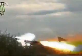Пусковая установка сирийских повстанцев. Стрельба по силам Ассада. http://khmertube.khmerelite.ws