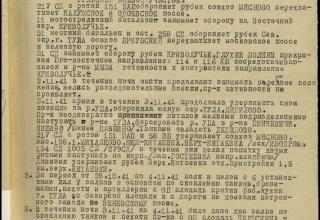 ЦАМО РФ. Ф. 59. Оп. 12196. Д. 21. Л. 22.
