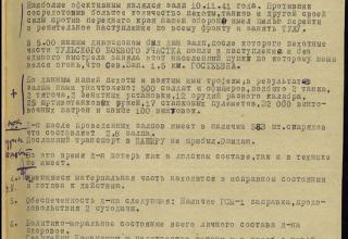 ЦАМО РФ. Ф. 59. Оп. 12196. Д. 21. Л. 43.