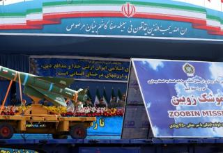 Макет УР ZOOBIN. http://edition.cnn.com/2015/04/20/world/gallery/iran-military-parade/