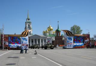 БМД-4М. Военный парад. Площадь Ленина. ©С.В. Гуров (Россия, г.Тула).