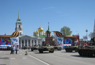 БМД-2. Военный парад. Площадь Ленина. ©С.В. Гуров (Россия, г.Тула).