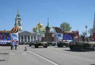 БТР. Военный парад. Площадь Ленина. ©С.В. Гуров (Россия, г.Тула).