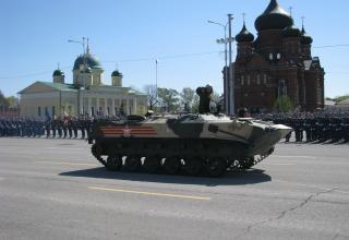БТР-РД. Военный парад. Площадь Ленина. ©С.В. Гуров (Россия, г.Тула).