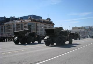 Боевые машины РСЗО