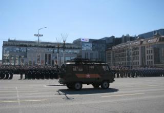 Военный парад. Площадь Ленина. ©С.В. Гуров (Россия, г.Тула).
