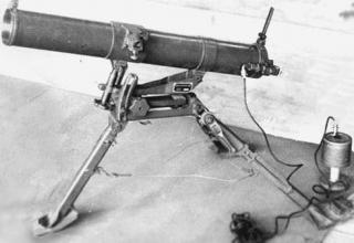 Пусковая установка для ТРС калибра 107 мм (Китай). Из Архива Фотостудии