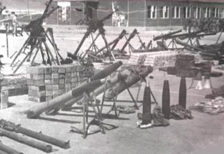 ПУ для пуска РС калибра 122 мм. http://commons.wikimedia.org/wiki/File:Afghanistan_%E2%80%93_Seized_Mujahideen_weaponry_001.jpg