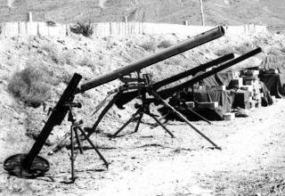 Захваченная пусковая установка 9П132 системы