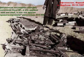 Итоги операции «Дарбанд». Оружие приватизируют расуловцы. http://maimana-1.ucoz.ru/publ/1987_god_chast_6/7-1-0-66