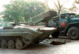 Списанные БMП-1, БМ-21 РСЗО
