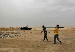 Ливийские повстанцы переносят РС