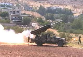 РСЗО 14Х122-мм ливанского производства в Идлибе. http://otvaga2004.mybb.ru/viewtopic.php?id=1210&p=2
