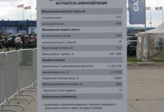 Образец Су-32 отсутствовал на экспозиции в момент фотографирования. ©С.В. Гуров (Россия, г.Тула).