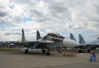 Су-30СМ. ©С.В. Гуров (Россия, г.Тула).