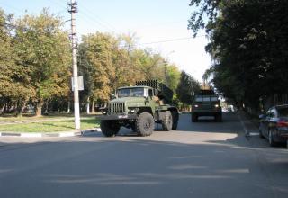 Боевая машина 2Б17-1 РСЗО