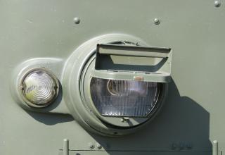 Фары боевой машины 9П140 РСЗО