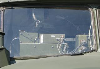 Приборы управления в кабине боевой машины 2Б17-1 РСЗО