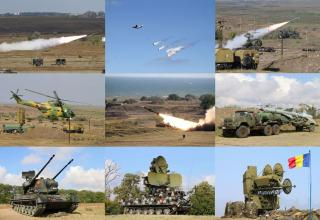 Учения сил ПВО в Румынии