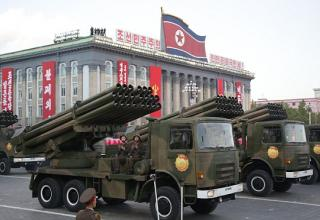 БМ РСЗО. capitalbay.com/news/894242-north-korea-s-kim-jong-un-says-he-is-ready-for-war-with-us-at-70th-anniversary-parade.html