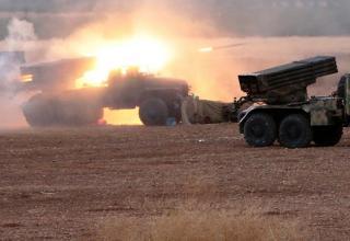 По позициям ИГИЛ. ©Michael Alaeddin/RIA Novosti. geopolitics.co/2015/10/09/what-us-failed-to-do-in-1-year-russia-did-in-a-week/