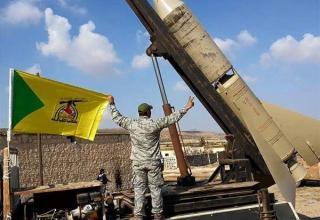 Ракетная установка иракских волонтеров из бригады Kata'ib Hezbollah. http://english.farsnews.com/imgrep.aspx?nn=13940811000900