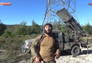 Стоп-кадр видеозаписи, предоставленной сирийскими террористами из группировки «Джабхат ан-нусра». http://lifenews.ru/news/169062