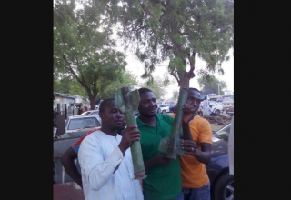http://www.forumspotz.ng/conflicting-photos-as-nigerian-military-denies-boko-haram-rocket-making-factory/