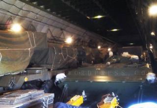 Слева БМ RM-70 в самолёте ANTONOV 255. https://beegeagle.wordpress.com; http://oi61.tinypic.com/dlkw9v.jpg