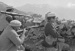 Кандагар, 1986 год. Боевики афганских маджахедов (паштунов). https://www.flickr.com/photos/pashtun-afghan/5885195802
