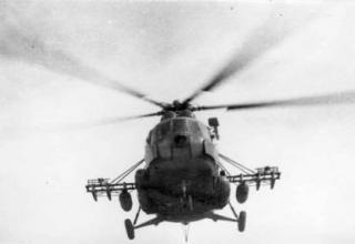Вертолет Маневренной Группы, 1986 г. http://www.rusproject.org/node/285