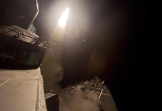 Пуск КР Tomahawk 13.09.2014 г. из Красного моря. (Reuters / US Navy) rt.com/news/190188-video-airstrikes-syria-islamicstate/