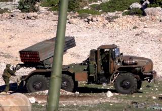 БM-21-1 РСЗО