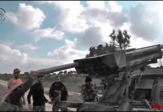26.02.2016 г. Сирия, Латакия БМ боевиков. http://1080.plus/dWnEf60dV8U.video