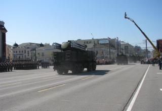 Пусковая установка зенитно-ракетно-пушечного комплекса